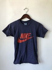 vintage nike orange tag swoosh t-shirt mens size small 80s made in USA