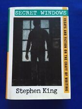 SECRET WINDOWS. ESSAYS AND FICTION ON THE CRAFT OF WRITING- 1ST  BY STEPHEN KING