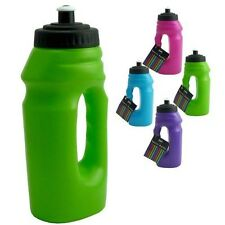 New Plastic Sports And GYM GREEN Water Bottle With Handle - 700 ml