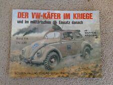 Podzun Pallas Verlag GmbH Kafer Beetle Type 1 WW2 Band 114 1988 Waffen Arsenal