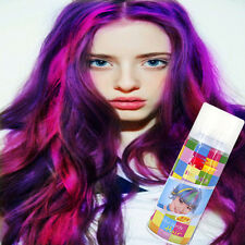 Disposable hair spray,DIY Hair Color Dye Cream Temporary Modeling color hair dye