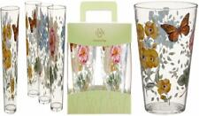 Lenox 866239 Butterfly Meadow Acrylic Highball Glass (Set of 4), Multicolor