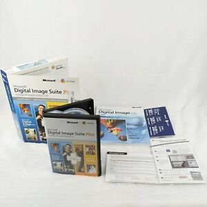 Microsoft Digital Image Suite Plus 2006 with Pinnacle Studio v 10   Complete!