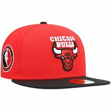Chicago Bulls New Era Team Logoman 59FIFTY Fitted Hat - Red