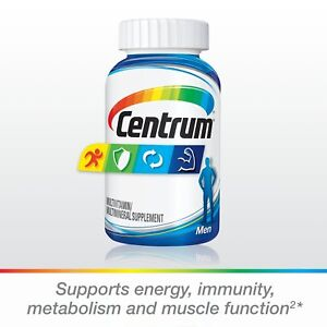 Centrum Silver Men (200 Count) Complete Multivitamin / Multimineral Supplement