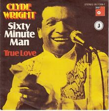 45 T SP  CLYDE WRIGHT *SIXTY MINUTE MAN*