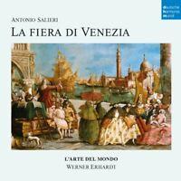 LA FIERA DI VENEZIA - L'ARTE DEL MONDO  2 CD NEW SALIERI,ANTONIO
