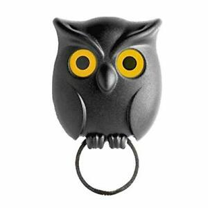 Key Holder, Owl Shape Magnetic Organizer Hook - Wall Mounted As Picture Show