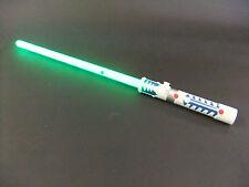 Green Laser Lightsaber lights & sounds motion sensor battle clash sounds connect