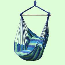 Hamaca Silla Colgante Nuevo Estilo Moderno Silla Columpio al aire libre algodón