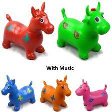Kids Musical Bouncing Animal Hopper Inflatable Rubber Toy Bouncer - GN Enterpris