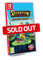 The Adventure Pals Super Rare Games SRG Nintendo Switch Sealed 4000 WW Sold Out!