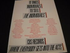 Bob James Tom Scott Maynard Ferguson Herbie Hancock other 1980 Promo Poster Ad