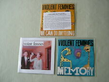 VIOLENT FEMMES job lot of 3 promo CDs We Can Do Anything Memory
