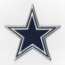 Dallas Cowboys Iron on Patches Embroidered Badge Applique White Border Patch FN