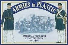 Armies in Plastic 5459 - US Civil War - Union Marines Figures-wargaming Kit