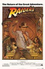 Indiana Jones Raiders Of the Lost Ark Movie Poster