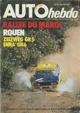 AUTO HEBDO n°20 du 1er Juillet 1976 ZELTWEG Gr5 ENNA Gr6 RALLYE du MAROC