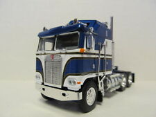 DCP 1/64 SCALE KENWORTH K100 AERODYNE CABOVER BLUE & WHITE  (TRACTOR ONLY)