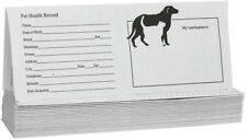 Valley Vet Supply Pet Records for Dog and Cats 25 ct