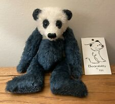 More details for bearability by kim - panda - vintage limited edition artist bear 1/20 rare