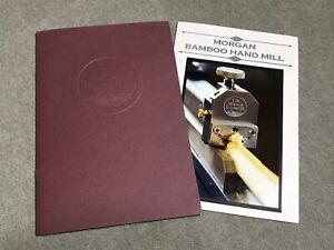 Tom Morgan Rodsmiths & Morgan Bamboo Fly Rod Hand Mill Catalogs Saracione Reels
