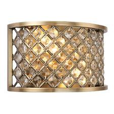 Endon Lighting 70559 2 Light Hudson Antique Brass Wall Light BOXED