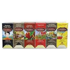 Celestial Seasonings 46003 Assorted Teas - Mandarin Orange Spice, Lemon Zinger,