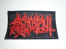 ARGHOSLENT DEATH METAL EMBROIDERED PATCH