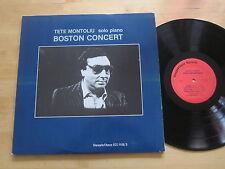 Tete Montoliu - Boston Concert 2-LP Steeplechase Solo Jazz Piano Ultrasonic VG++