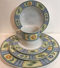 """Studio Nova """"Spring Parade"""" 5 Piece Place Setting For 4 HG27 Oven To Table 20 Pc"""
