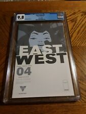 East of west #4 cgc 9.8 nm 2nd print second printing Near Mint image comics
