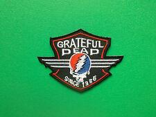 HEAVY METAL PUNK ROCK MUSIC SEW ON / IRON ON PATCH:- GRATEFUL DEAD (a) SKULL