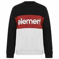 Mens Element Crew Sweatshirt Sweater Long Sleeve New