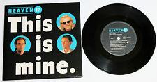"HEAVEN 17 This Is Mine / Skin 7"" vinyl UK 1984 Virgin VS722 human league"