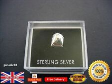 Genuine Solid Silver tooth teeth cap **Brand New**Same Day Dispatch**