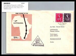 GP GOLDPATH: BRITISH K.U.T. COVER 1962 FIRST FLIGHT COVER _CV731_P13