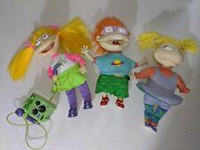 Vintage Rugrats Karaoke Angelica Wiggle Chuckie Twist Angelica Dolls 15 Inches