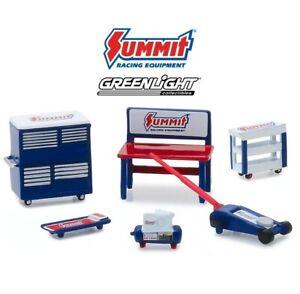 Summit tool Accessories Werkstatt Set 6 pcs 1:64 Greenlight