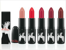 Mac Marilyn Monroe Lipstick Collection Authentic All 5 Shades BNIB
