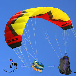 5M² Quad Line Traction Power Kite Used for Outdoor Kitesurfing Water Sports Sets