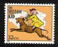 Scott  #3000-a... 32 Cent....Comics...The Yellow Kid  ...5 Stamps
