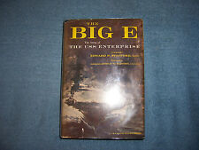 THE BIG-E by Edward P. Stafford, U.S.N./1st Ed/HCDJ/Military & War/WWII 1939-45