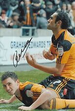 HULL CITY HAND SIGNED CORRY EVANS 12X8 PHOTO 2.