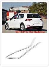 For Volkswagen Golf 7 MK7 7.5 Gen 2018 Rear Exhaust Tip Pipe Muffler Cover Trim