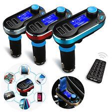 Bluetooth Radio Autoradio Transmetteur FM Lecteur MP3 USB SD Modulateur Voiture
