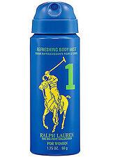 Ralph Lauren Big Pony 1.75 oz /50 g Travel Refreshing Body Mist Spray Collection