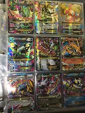 Lot of 90 Pokemon cards - EX, Level X, Full arts, Breaks, Secret Rares, etc.