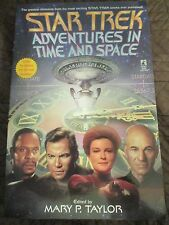 STAR TREK ADVENTURES IN TIME AND SPACE MARY P TAYLOR 1999