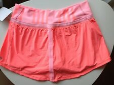 Lululemon Coral Pink Run Pace Skirt 4 NWT